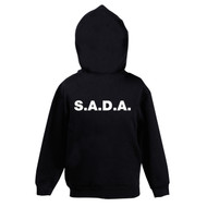 S.A.D.A BRANDED ZIP UP HOODIE