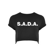 S.A.D.A BRANDED CROP TOP
