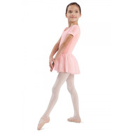 SADA CL5342 PINK SKIRTED LEOTARD