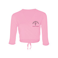 CREMONA BRANDED PINK COTTON WRAP