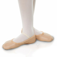 T&P LEATHER BALLET SHOE
