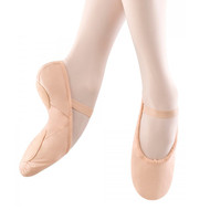 BLOCH 'DANSOFT' LEATHER BALLET SHOE