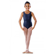 BLOCH ROUND NECK TANK LEOTARD WITH BELT (Cotton/Lycra)