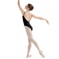 BLOCH 'SISSONE' LOWBACK ROUND FRONT CAMI LEOTARD