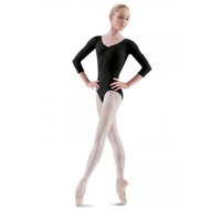 BLOCH 'BALLON' LOW BACK 3/4 SLEEVE LEOTARD