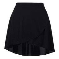 FREED 'REHEARSE' POLYCREPE WRAP AROUND SKIRT