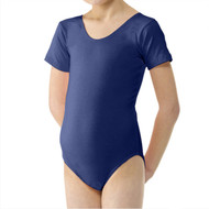 TAPPERS & POINTERS 'PRIMARY' SHORT SLEEVED LEOTARD