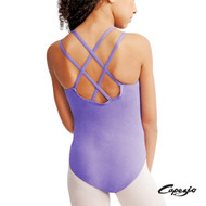 CAPEZIO DOUBLE STRAP CAMISOLE LEOTARD Jr