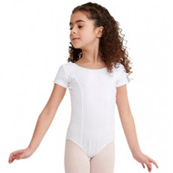 CAPEZIO PRINCESS SEAM SHORT SLEEVE LEOTARD Jr