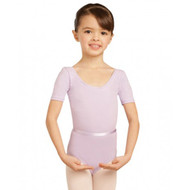 CAPEZIO SHORT SLEEVED LEOTARD WITH BELT Jr
