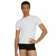 CAPEZIO MENS FITTED TACTEL® CREW NECK TOP