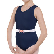 SUSAN ROBINSON NAVY TANK COTTON LEOTARD (T&P)