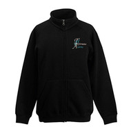 THE PERFORMANCE ACADEMY BRANDED ZIPPER TOP