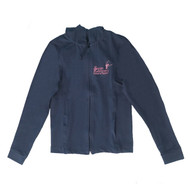 SUSAN ROBINSON BRANDED NAVY TRACK SUIT TOP