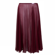 FREED 'LITTLE BALLERINA' CIRCULAR POLYESTER CHIFFON SKIRT Jr