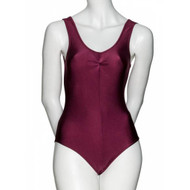KATZ TANK LEOTARD WITH RUCHED FRONT Ad