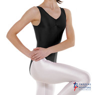 TAPPERS & POINTERS LEO 2 TANK RUCHED LEOTARD Ad