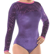 TAPPERS & POINTERS GYM/29VELVET AND FOIL LEOTARD