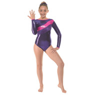 TAPPERS & POINTERS GYM/34 SHINE BLOCKS LEOTARD Jr