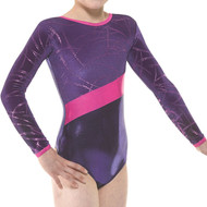 TAPPERS & POINTERS GYM/32 SHINE AND VELVET LEOTARD