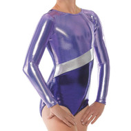 TAPPERS & POINTERS GYM/10 SHINE BLOCKS LEOTARD