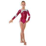 TAPPERS & POINTERS GYM/14 SHINE PANEL LEOTARD Jr