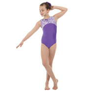 TAPPERS & POINTERS GYM/4 LYCRA AND FOIL LEOTARD Jr