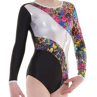 TAPPERS & POINTERS GYM/40 CARNIVAL LEOTARD