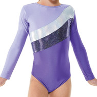 TAPPERS & POINTERS GYM/19 LYCRA AND COSMIC SHINE LEOTARD