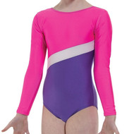 TAPPERS & POINTERS GYM/2 LYCRA BLOCKS LEOTARD
