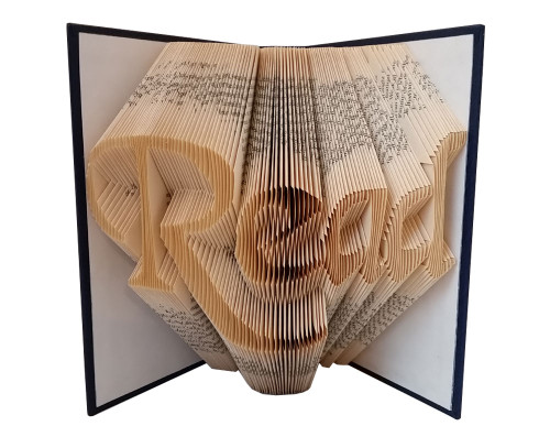 "A folded book of the word ""Read"""