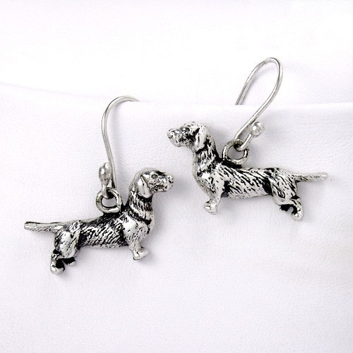Dachshund Wire Hair Earrings