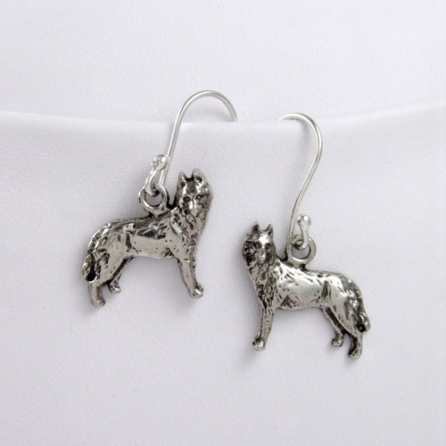 Siberian Husky Earrings