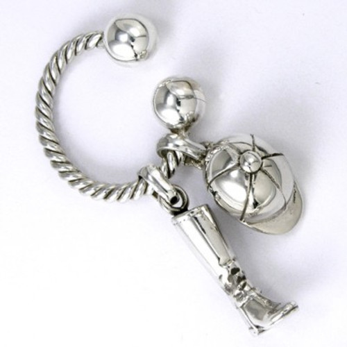 Classic U Key Ring Twisted
