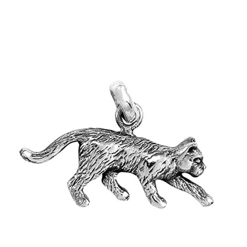 Stalking Cat Medium Charm