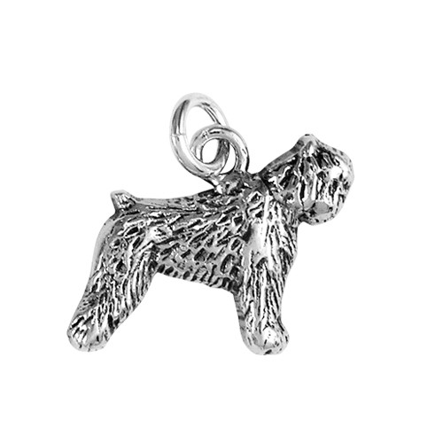 Bouvier des Flandres Small Charm