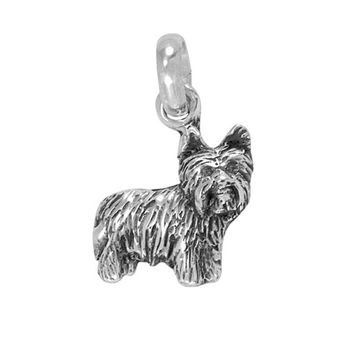 Yorkie Puppy Large Charm