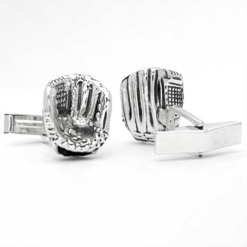 Baseball Mitt Cufflinks