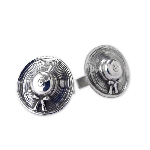 Straw Hat Cufflinks