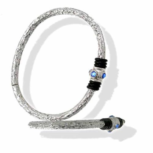 Bangle Bracelet in Hammered