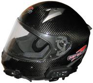 Quiet Ride Helmets Carbon Fiber Full Face Helmet
