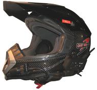 Quiet Rides Carbon Fiber Motocross Helmet