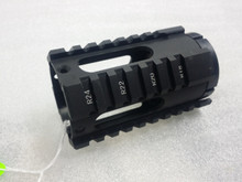 "4"" universal AR-15 free float quad rail"