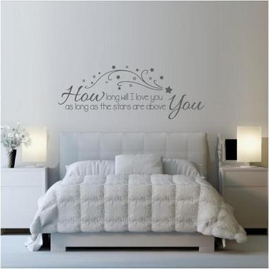 How Long Will I Love You? Song Lyrics Wall Art - totesamazewalls