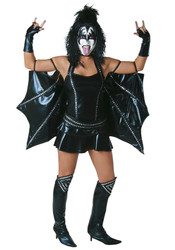 KISS Sexy Women's Halloween Costume - DEMON
