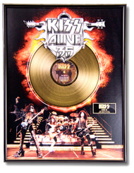 KISS Gold Record - Alive 35 LP