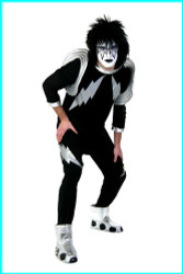 KISS Adult Costume - Ace SCREENPRINT