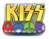 KISS Pin - Color Icons