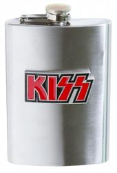 KISS Metal Flask - Logo