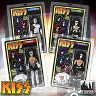 KISS Retro Action Figure Dolls - 12 inch full set of 4